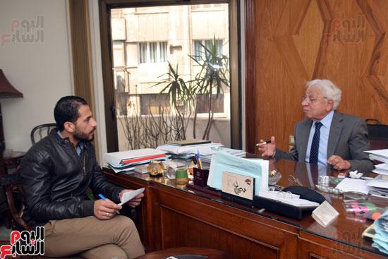 حوار دكتور شوقي السيد محامي احمد شفيق (1)
