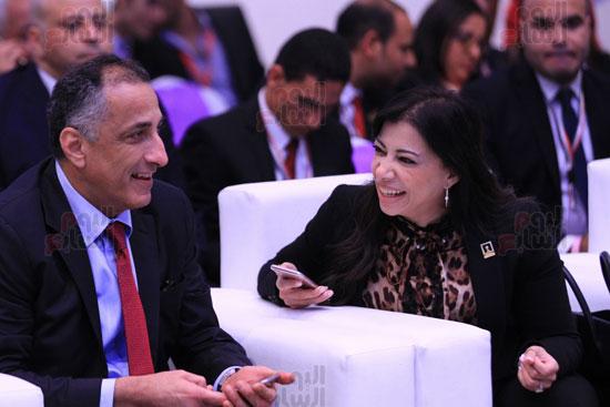 هل تزوج طارق عامر من داليا خورشيد؟