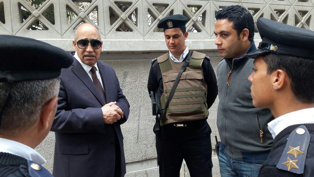 اللواء على أبو زيد مساعد وزير الداخلية لغرب الدلتا