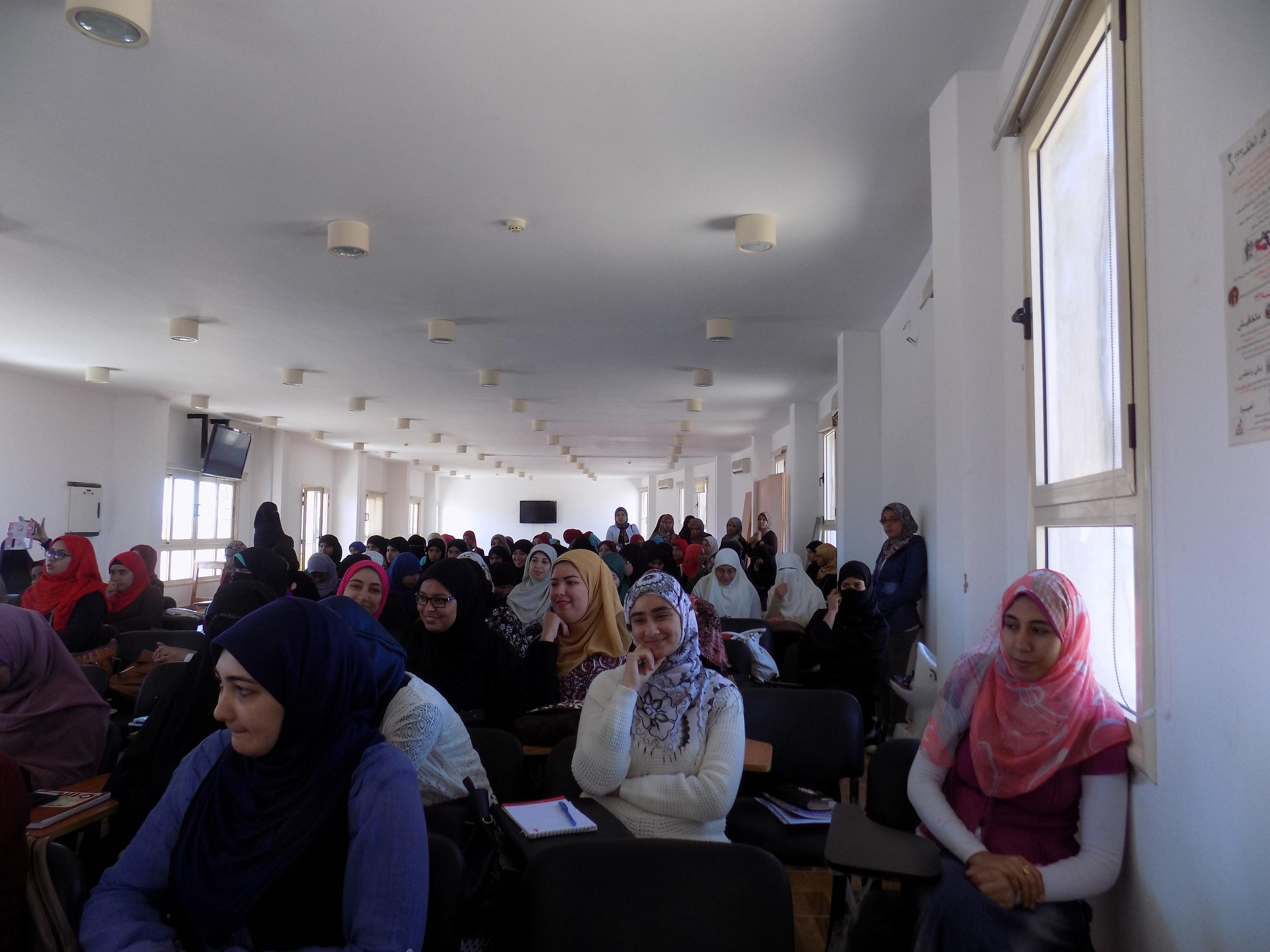اعضاء هيئة التدريس بكلية  الازهر بجنوب سيناء