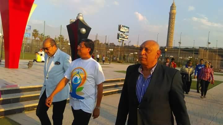 سفير الهند في مركز شباب الجزيرة