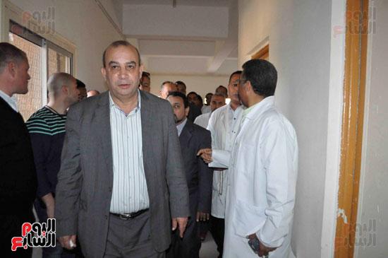ختام جولات لجنة الصحة على مستشفيات الأقصر