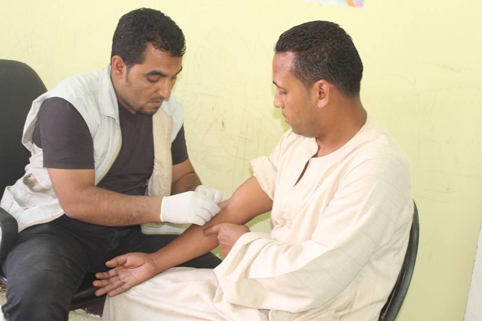 5- حملات علي مدار 3 شهور لاعلان القرنة خالية من فيروس سي