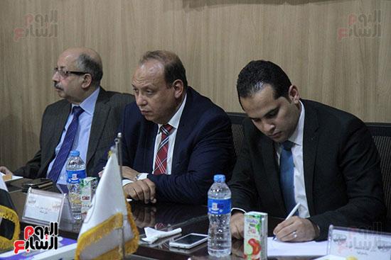 اجتماع رؤساء أندية فروع مجلس الدولة لمناقشة رؤساء الهيئات القضائية (7)