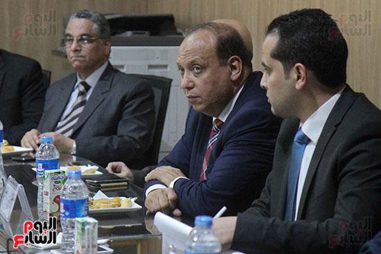 اجتماع رؤساء أندية فروع مجلس الدولة لمناقشة رؤساء الهيئات القضائية (5)
