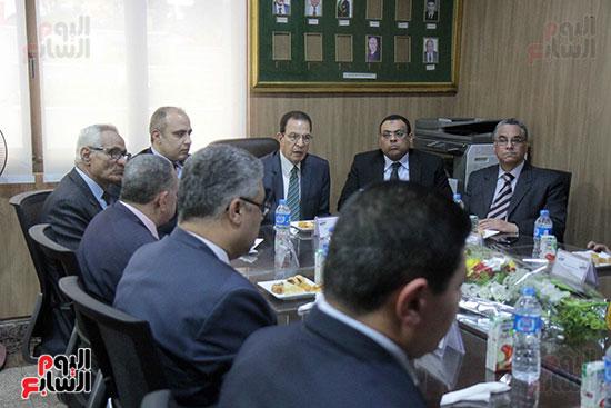 اجتماع رؤساء أندية فروع مجلس الدولة لمناقشة رؤساء الهيئات القضائية (9)