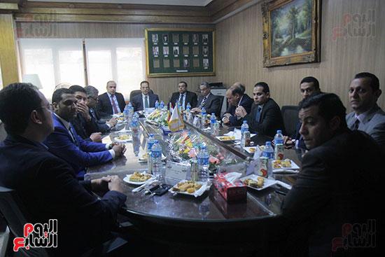 اجتماع رؤساء أندية فروع مجلس الدولة لمناقشة رؤساء الهيئات القضائية (19)