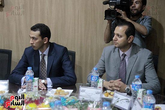 اجتماع رؤساء أندية فروع مجلس الدولة لمناقشة رؤساء الهيئات القضائية (8)