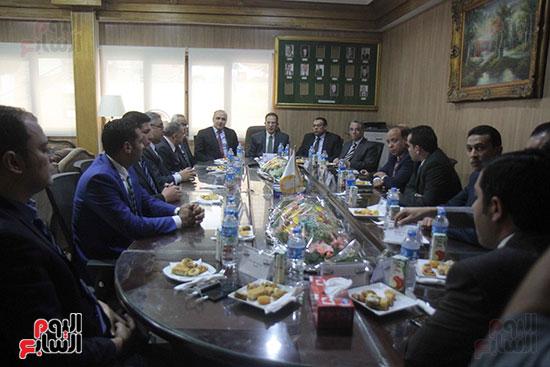اجتماع رؤساء أندية فروع مجلس الدولة لمناقشة رؤساء الهيئات القضائية (2)