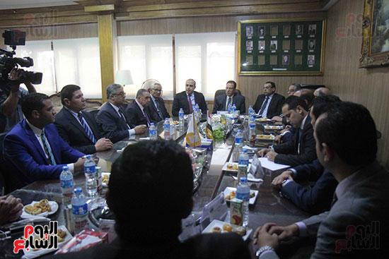 اجتماع رؤساء أندية فروع مجلس الدولة لمناقشة رؤساء الهيئات القضائية (10)