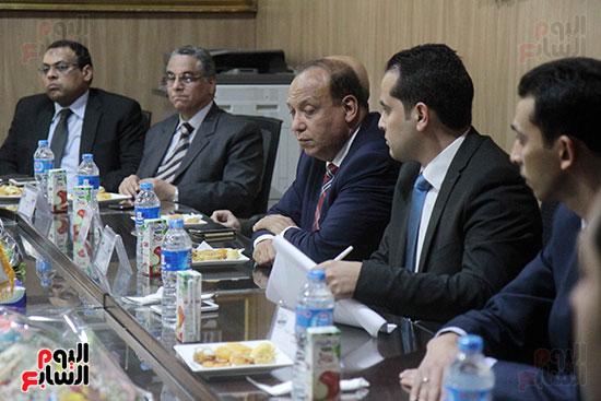 اجتماع رؤساء أندية فروع مجلس الدولة لمناقشة رؤساء الهيئات القضائية (6)
