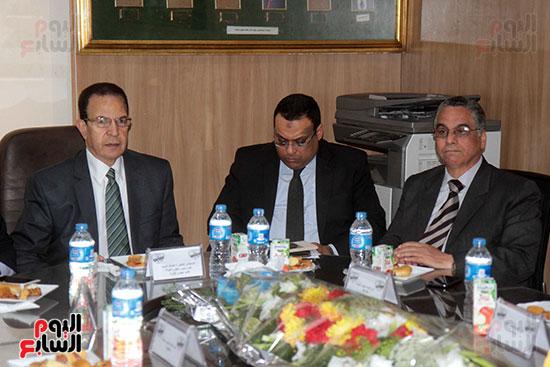 اجتماع رؤساء أندية فروع مجلس الدولة لمناقشة رؤساء الهيئات القضائية (16)