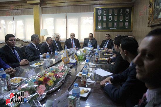اجتماع رؤساء أندية فروع مجلس الدولة لمناقشة رؤساء الهيئات القضائية (13)