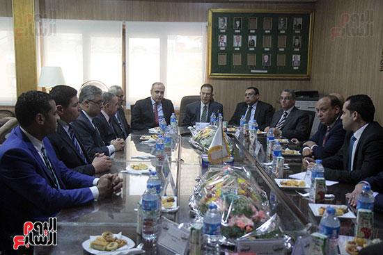 اجتماع رؤساء أندية فروع مجلس الدولة لمناقشة رؤساء الهيئات القضائية (4)
