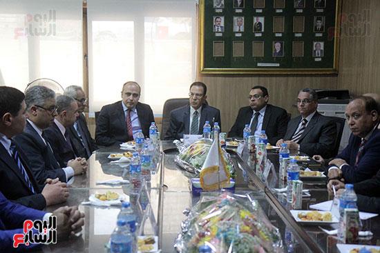 اجتماع رؤساء أندية فروع مجلس الدولة لمناقشة رؤساء الهيئات القضائية (3)