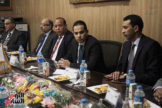 اجتماع رؤساء أندية فروع مجلس الدولة لمناقشة رؤساء الهيئات القضائية (18)