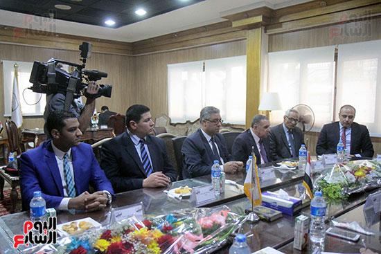 اجتماع رؤساء أندية فروع مجلس الدولة لمناقشة رؤساء الهيئات القضائية (11)