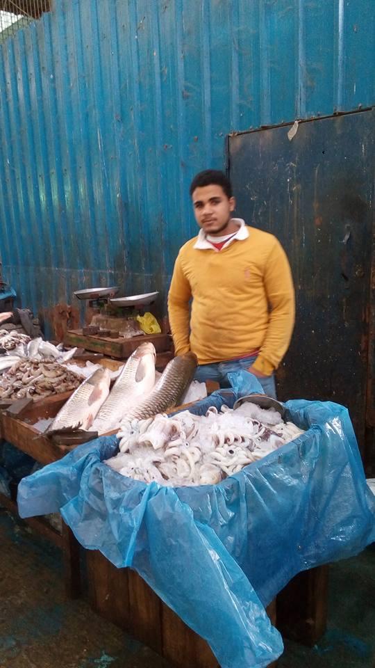 ركود فى أسواق الأسماك