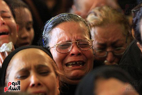 تشيع جنازة شهداء كنيسه الاسكنريه (13)