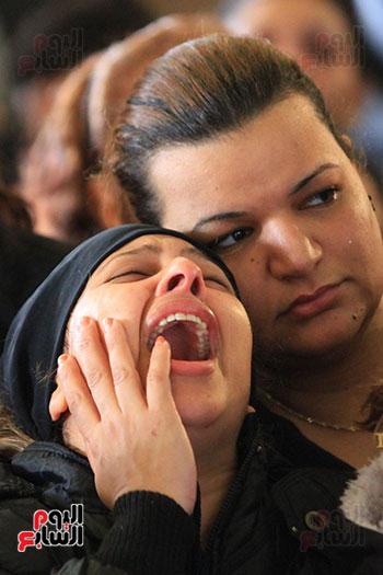 تشيع جنازة شهداء كنيسه الاسكنريه (15)
