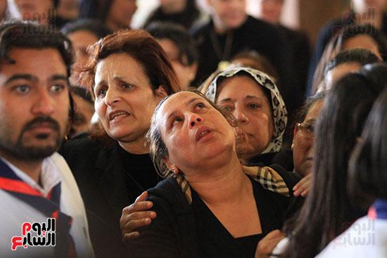 تشيع جنازة شهداء كنيسه الاسكنريه (19)