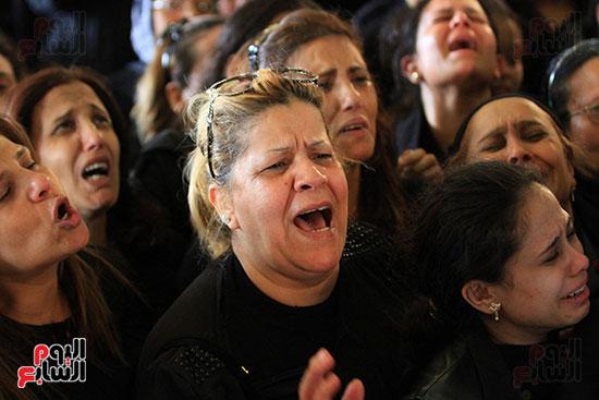 تشيع جنازة شهداء كنيسه الاسكنريه (7)