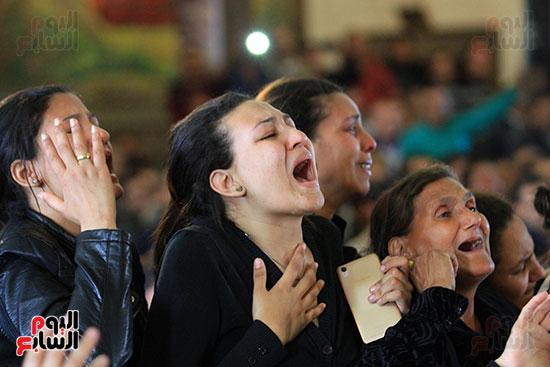 تشيع جنازة شهداء كنيسه الاسكنريه (11)