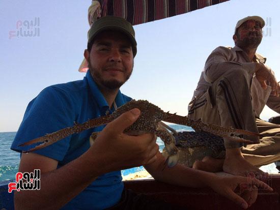 هواة الصيد  يفضلون تناول  صيد ايديهم أكثر من شراء الأسماك