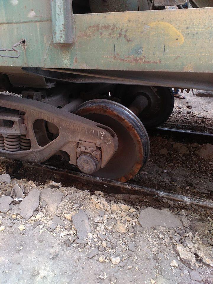 خروج قطار عن القضبان (2)