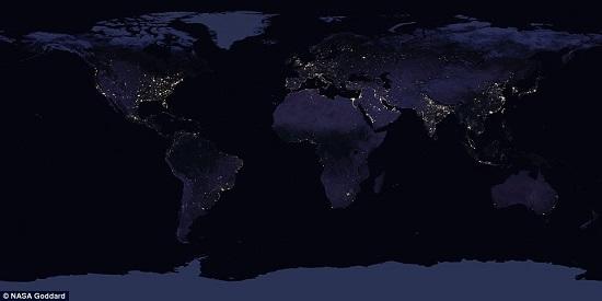 كوكب الارض من الفضاء