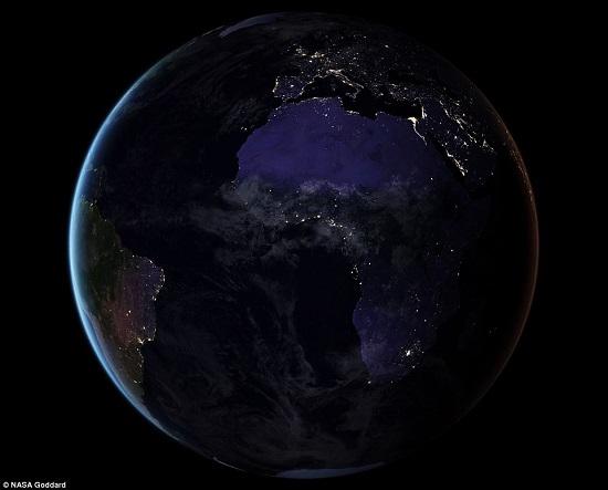 جانب من كوكب الارض