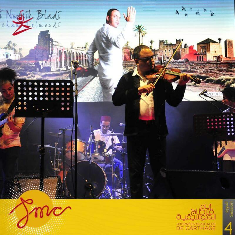 عازف الكمان هشام التلمودى (2)