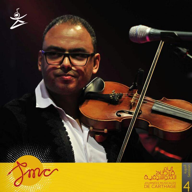 عازف الكمان هشام التلمودى (4)