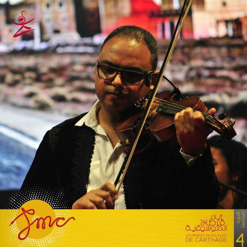 عازف الكمان هشام التلمودى (5)