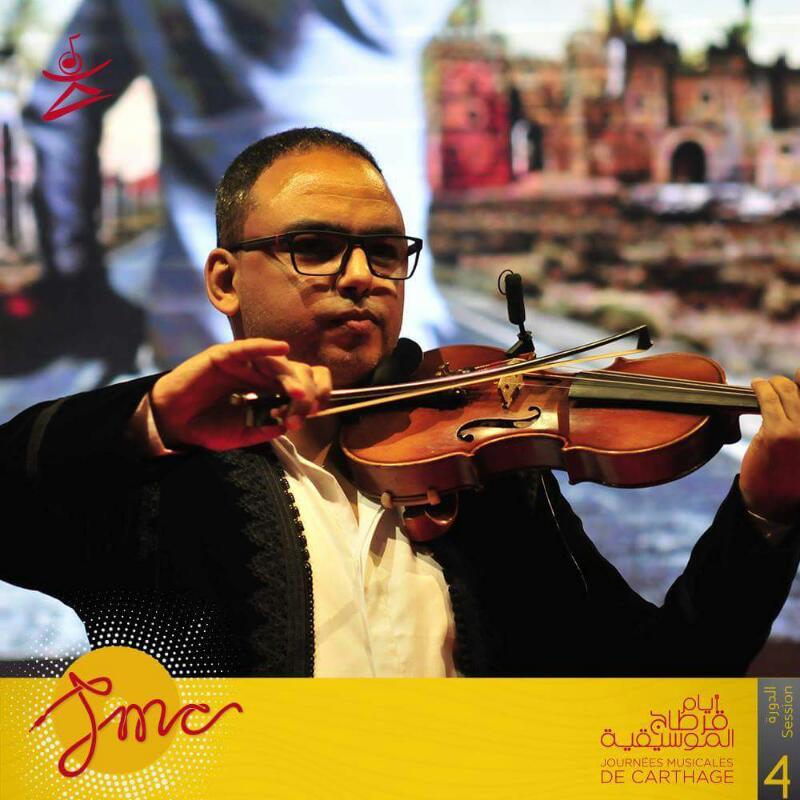 عازف الكمان هشام التلمودى (1)