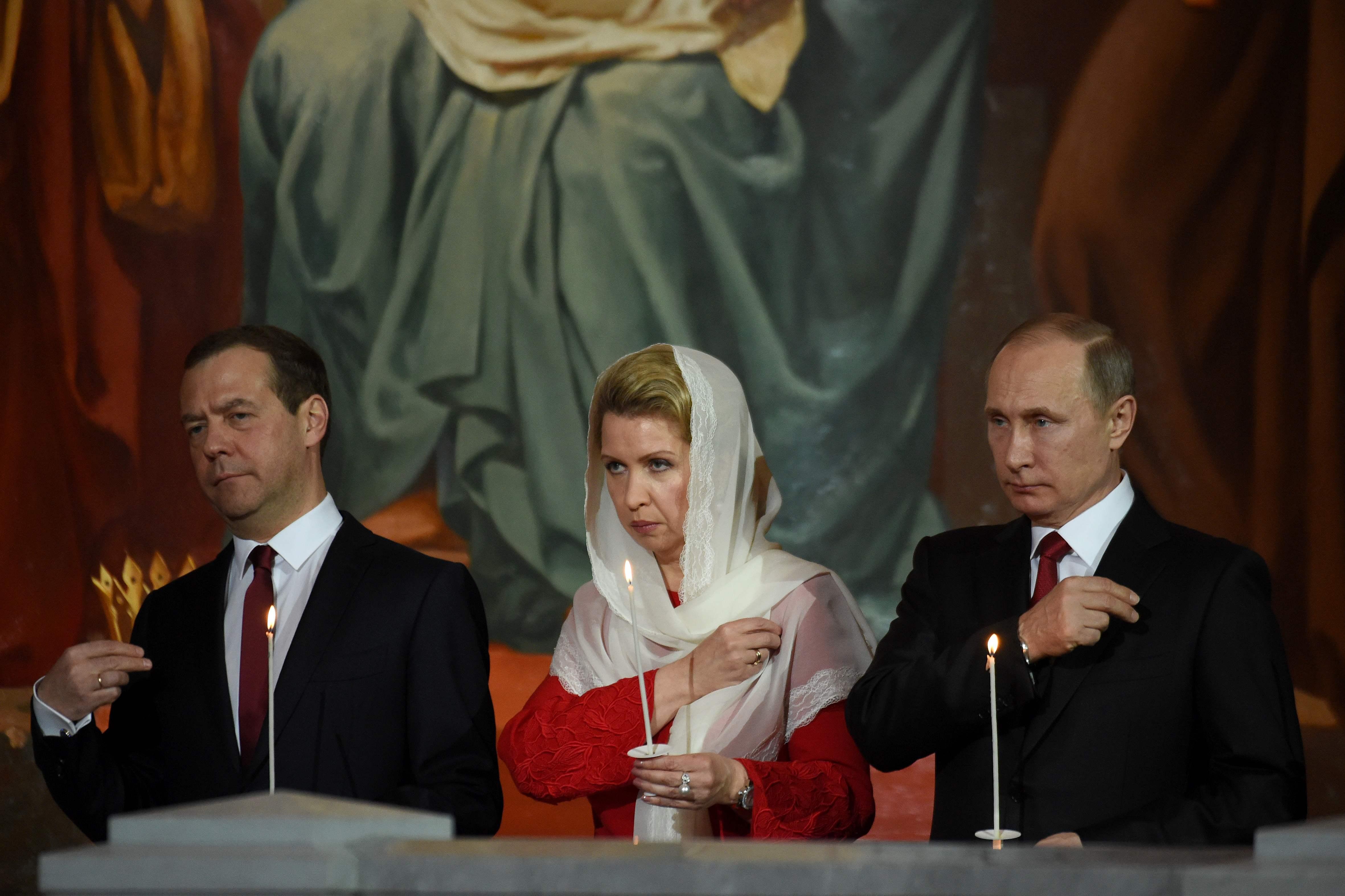 Image result for بوتين ومدفيديف