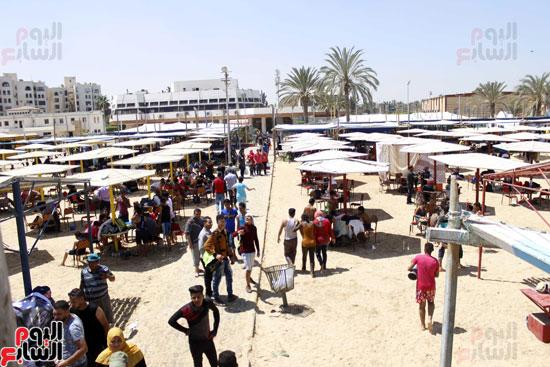 ديوان المحافظة  يقول إن الإسماعيلية  تستقبل  مصف  مليون زاشر خلال  شم النسيم