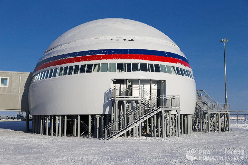 القاعدة العسكرية الروسية فى القطب الشمالى