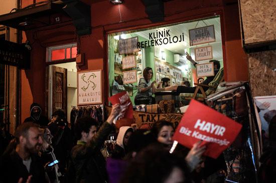 مظاهرات ضد أردوغان فى تركيا