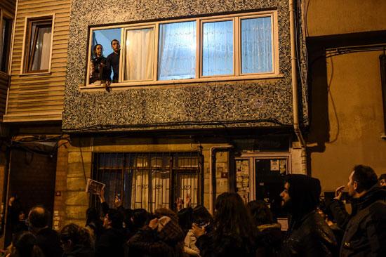 الأتراك يحتجون ضد أردوغان