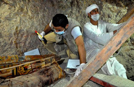 اكتشاف مقبرة (3)