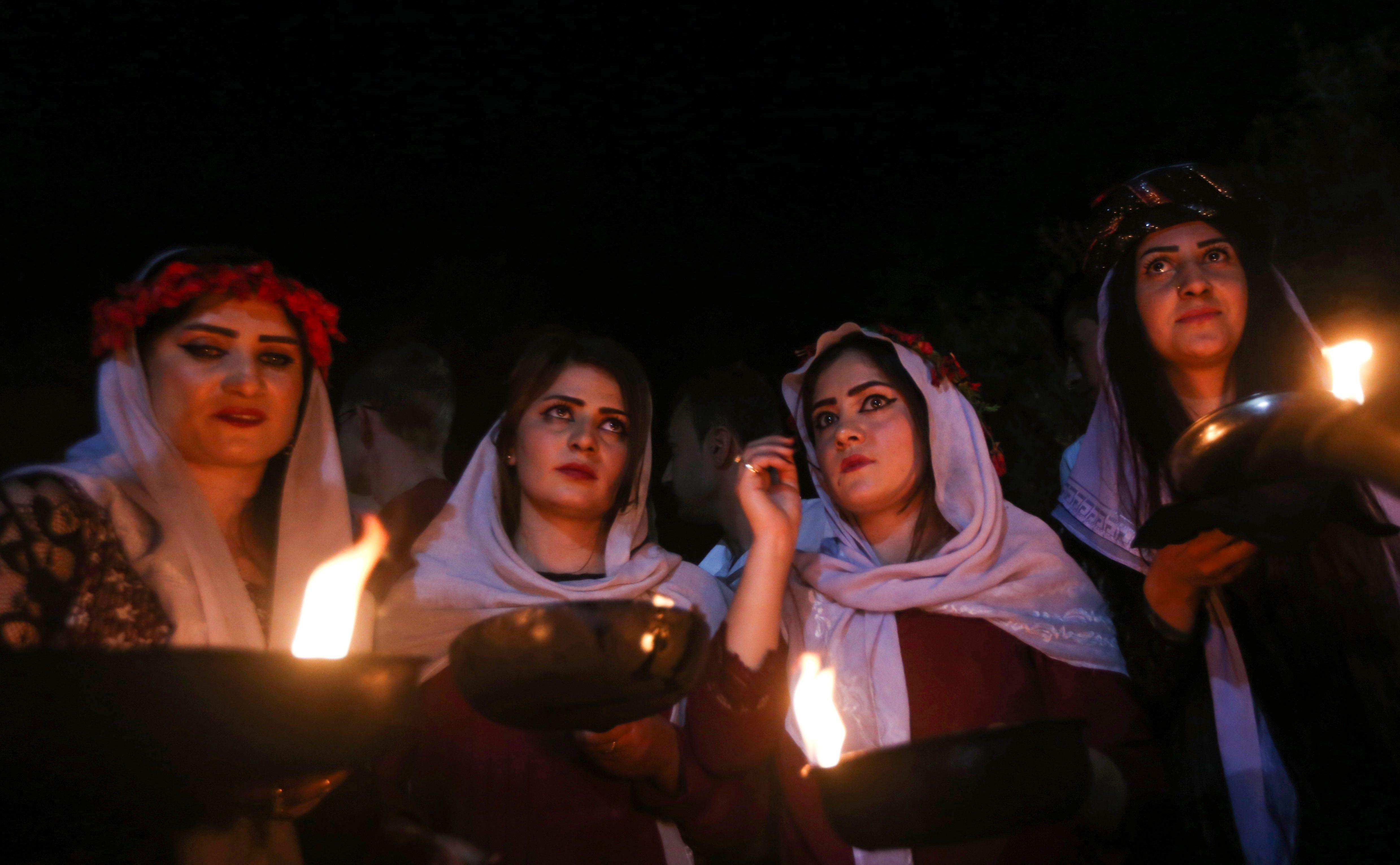 رأس السنة الأيزيدية في العراق
