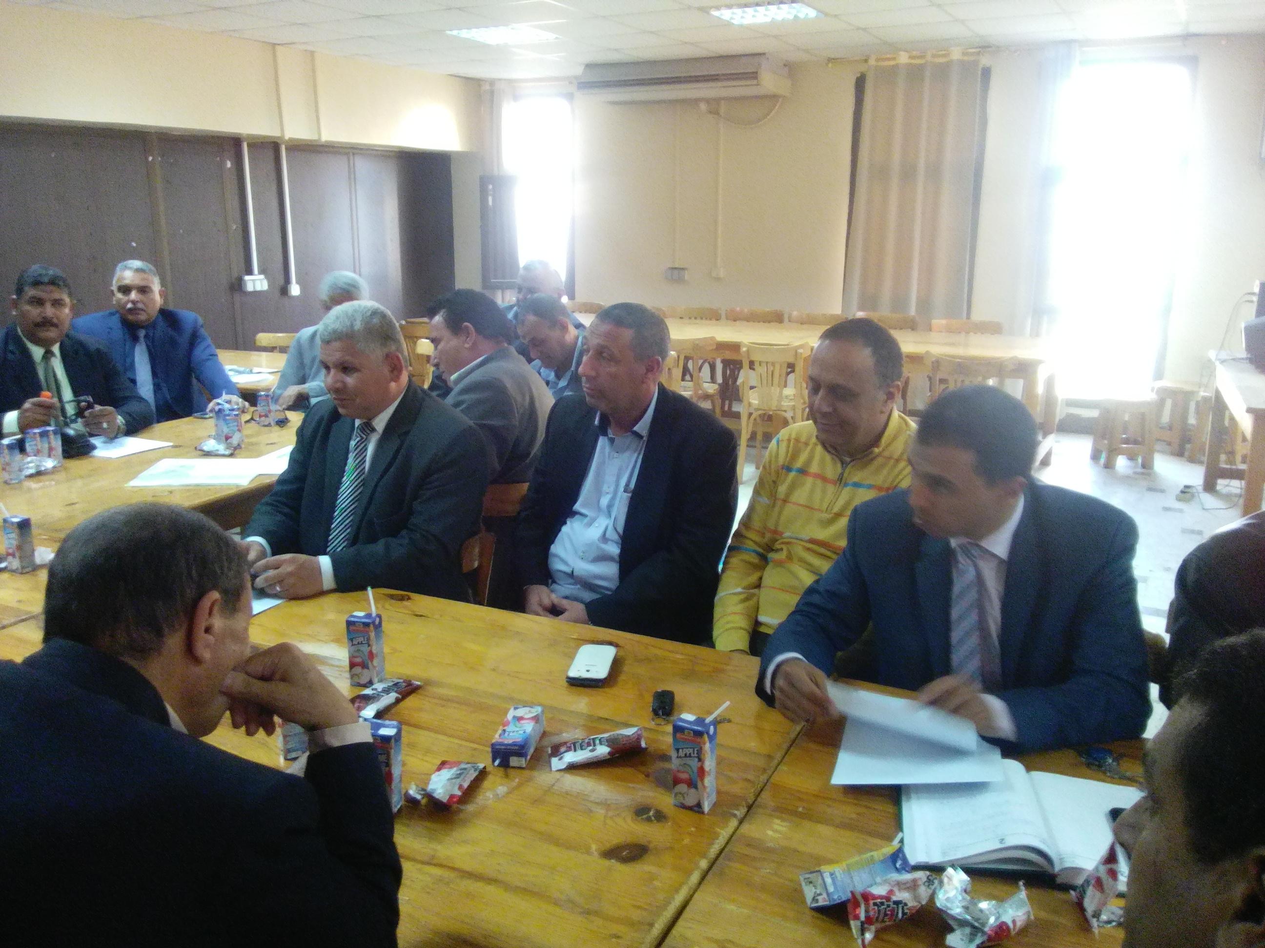 جانب من اجتماع تعليم كفر الشيخ