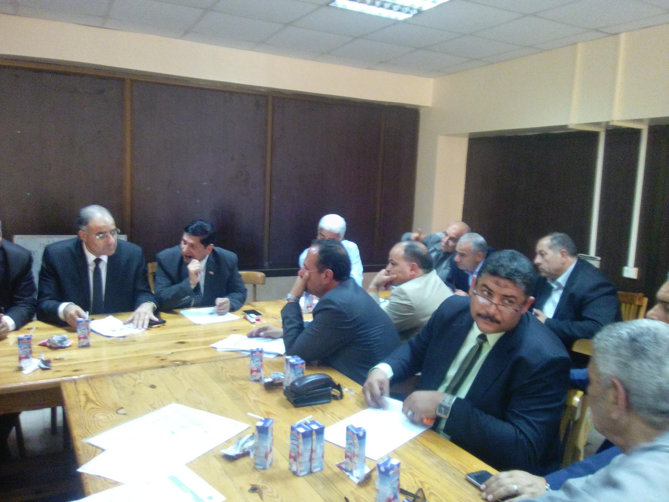 مديرو الادارات التعليمية بكفر الشيخ