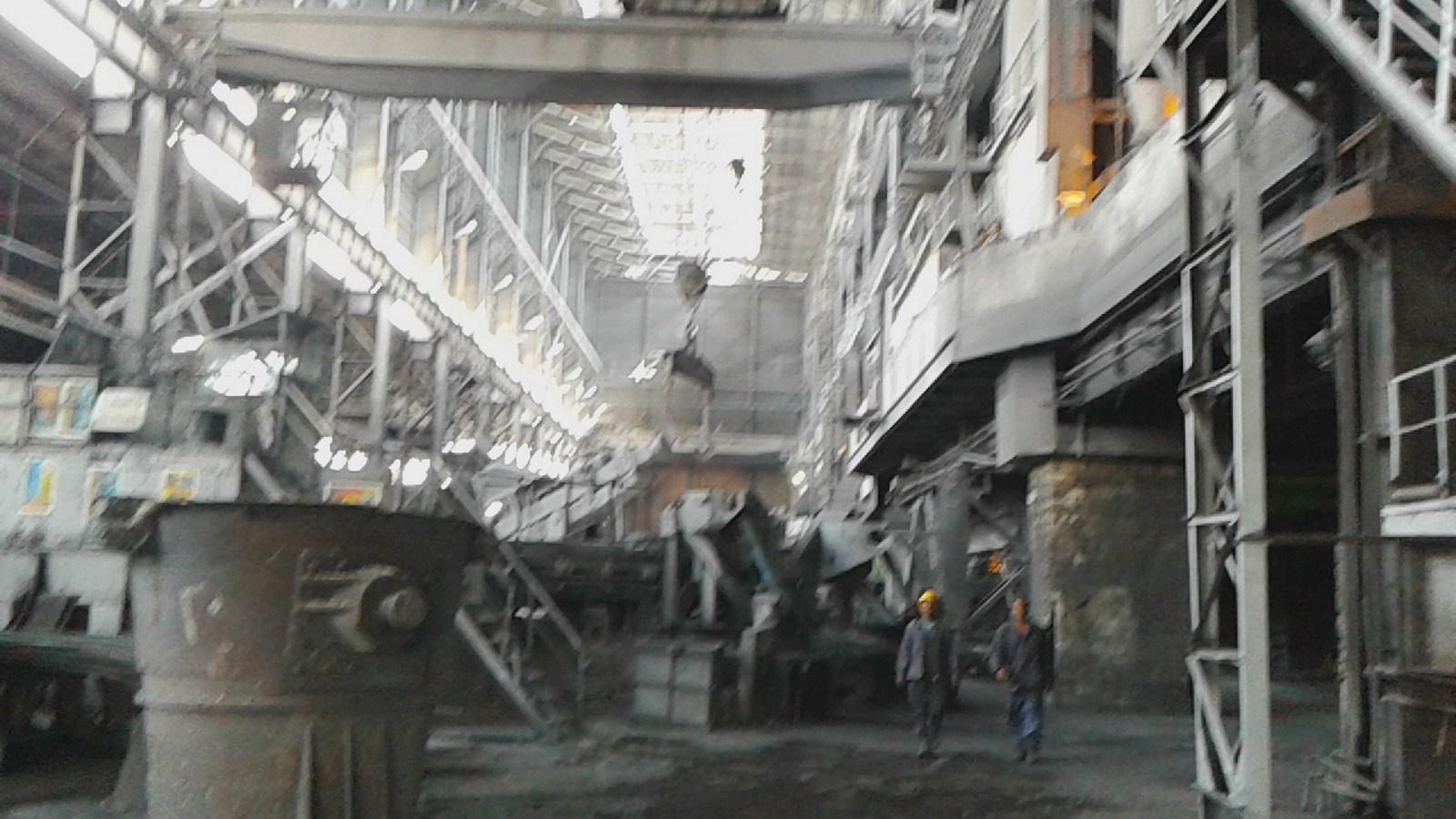 مراحل إنتاج السبائك الحديدية