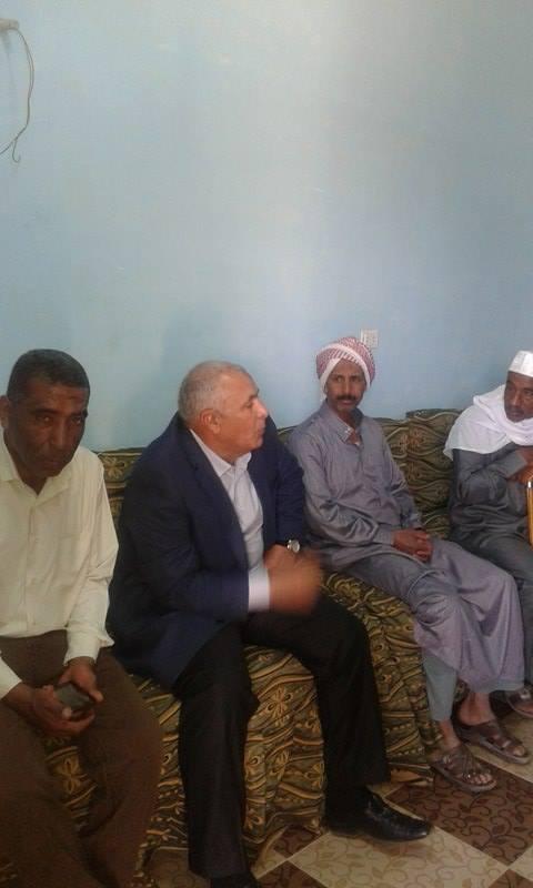 لقاء المحافظ باهالى قرية بولاق