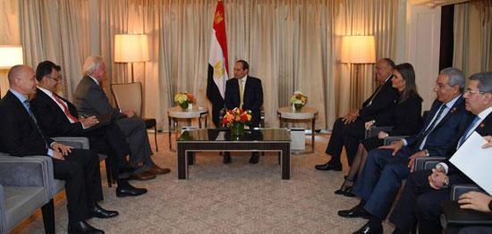 الرئيس السيسى يلتقى رئيس مجلس إدارة شركة 41762-%D8%A7%D9%84%D