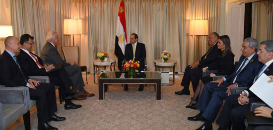 الرئيس السيسى يلتقى رئيس مجلس 41762-%D8%A7%D9%84%D