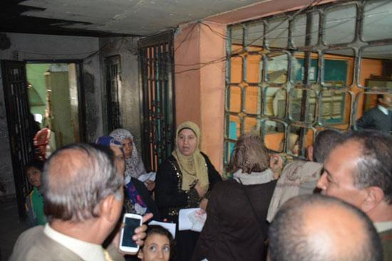 معاناة المواطنين من مكتب تموين شبرا الخيمة