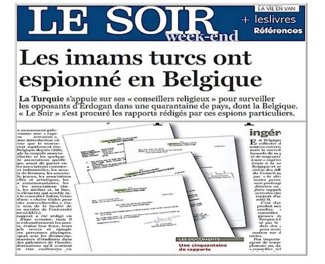 الصحيفة البلجيكية